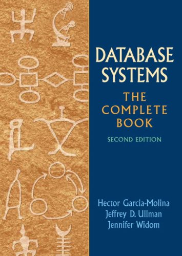 Database Systems The Complete Book 2nd 2009 edition cover