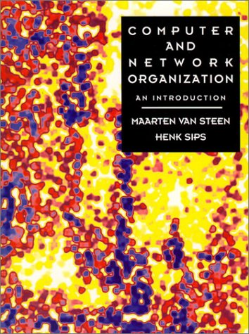 Computer and Network Organization An Introduction  1996 9780133824254 Front Cover