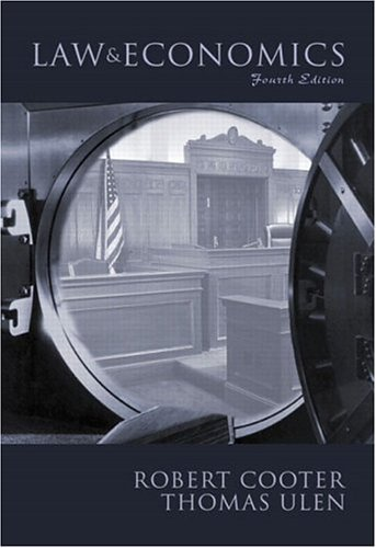 Law and Economics  4th 2004 (Revised) edition cover