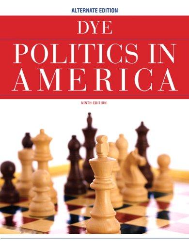 Politics in America, Alternate Edition  9th 2011 edition cover