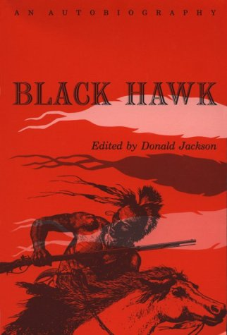 Black Hawk An Autobiography Reprint  edition cover
