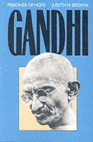 Gandhi Prisoner of Hope  1989 (Reprint) edition cover