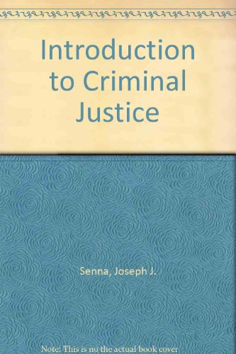 Criminal Justice  7th 1996 (Teachers Edition, Instructors Manual, etc.) 9780314065254 Front Cover