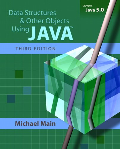 Data Structures and Other Objects Using Java  3rd 2006 (Revised) edition cover