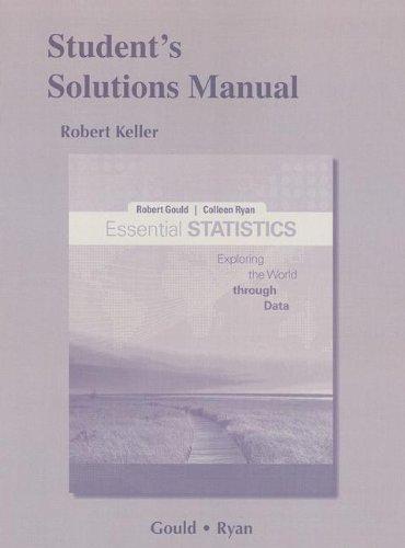 Essential Statistics:   2012 edition cover