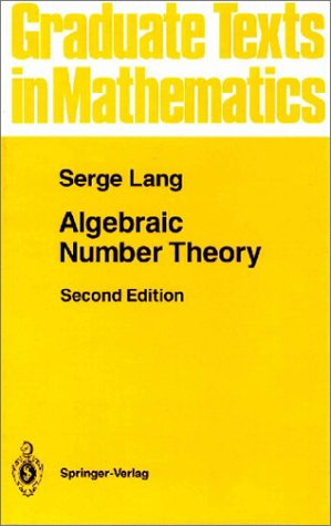 Algebraic Number Theory  2nd 1994 (Revised) edition cover