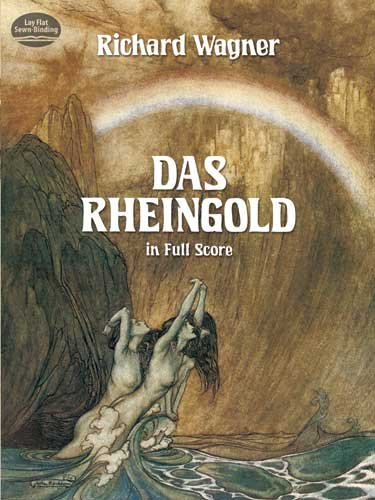 Rheingold in Full Score  N/A edition cover