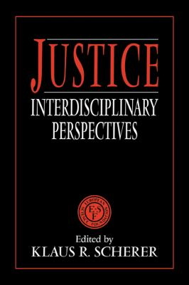Justice Interdisciplinary Perspectives N/A 9780521425254 Front Cover