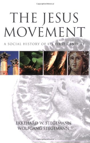 Jesus Movement A Social History of Its First Century N/A edition cover