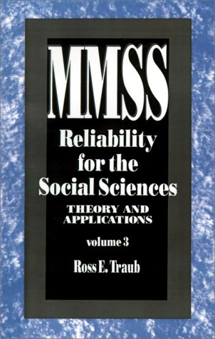 Reliability for the Social Sciences Theory and Applications  1994 edition cover