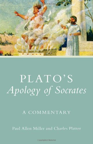 Plato's Apology of Socrates A Commentary  2010 9780806140254 Front Cover
