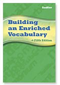 Building an Enriched Vocabulary 5th edition cover