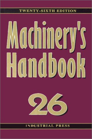 Machinery's Handbook : Toolbox Edition 6th 2000 edition cover