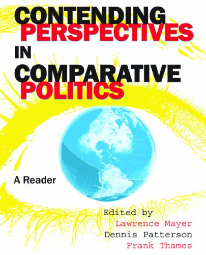 Contending Perspectives in Comparative Politics A Reader  2007 (Revised) edition cover
