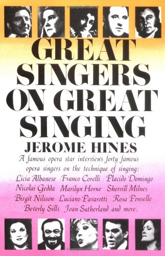 Great Singers on Great Singing  N/A edition cover