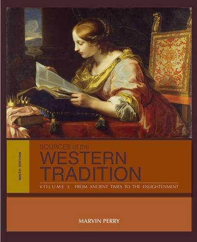Sources of the Western Tradition From Ancient Times to the Enlightenment 9th 2014 edition cover