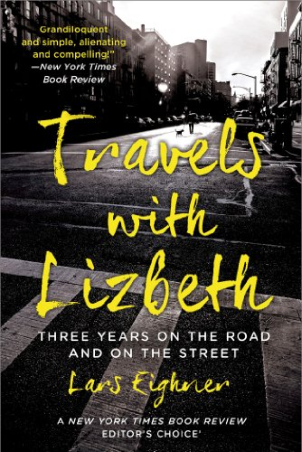 Travels with Lizbeth Three Years on the Road and on the Streets  1993 edition cover