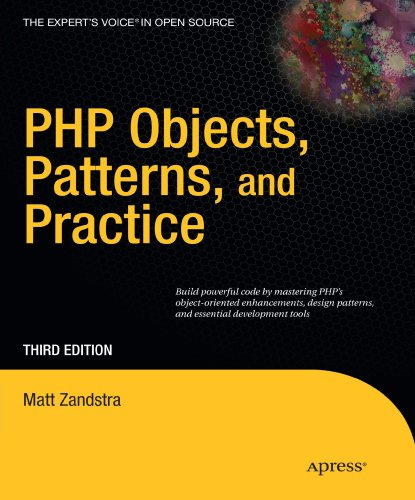 PHP Objects, Patterns and Practice  3rd 2010 9781430229254 Front Cover