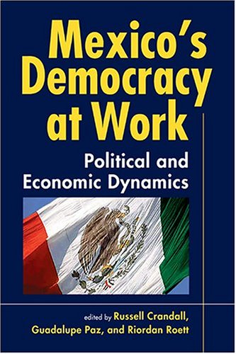Mexico's Democracy at Work Political and Economic Dynamics  2005 edition cover