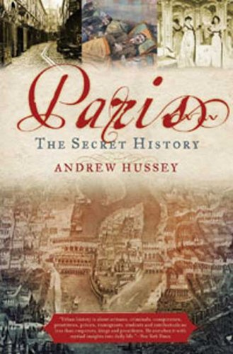 Paris the Secret History  N/A edition cover