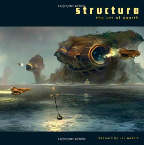 Structura The Art of Sparth N/A 9781933492254 Front Cover