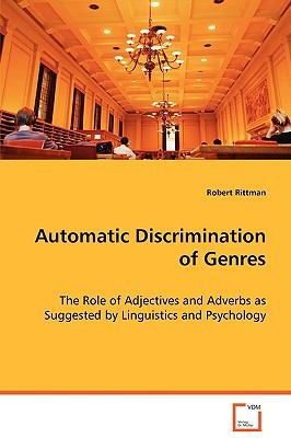 Automatic Discrimination of Genres:   2008 9783836483254 Front Cover