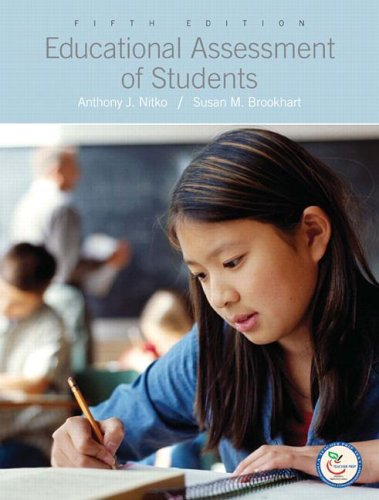 Educational Assessment of Students  5th 2007 (Revised) edition cover