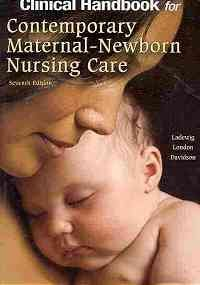 Clinical Handbook for Contemporary Maternal-Newborn Nursing  7th 2010 edition cover