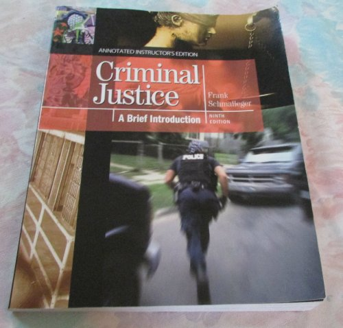 CRIMINAL JUSTICE:BRIEF INTRO.> N/A 9780138020255 Front Cover