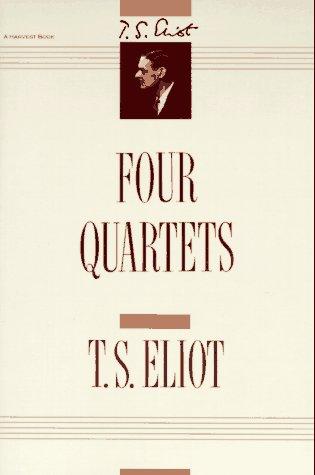 Four Quartets   1968 edition cover