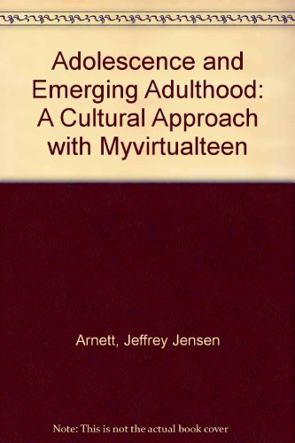 ADOLESCENCE and EMERGING ADULTHOOD&MVT SAC  4th 2010 9780205788255 Front Cover