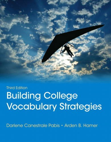 Building College Vocabulary Strategies  3rd 2014 edition cover