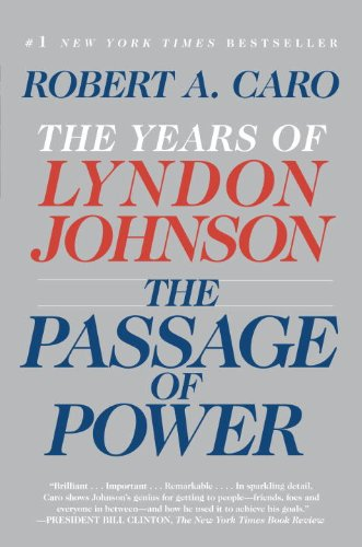 Passage of Power The Years of Lyndon Johnson N/A edition cover