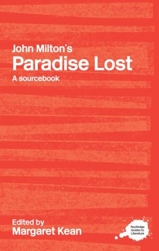 John Milton's Paradise Lost A Sourcebook  2004 edition cover