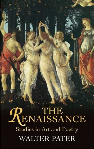 Renaissance Studies in Art and Poetry 4th 2005 (Unabridged) edition cover