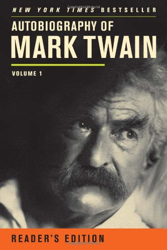 Autobiography of Mark Twain   2012 edition cover