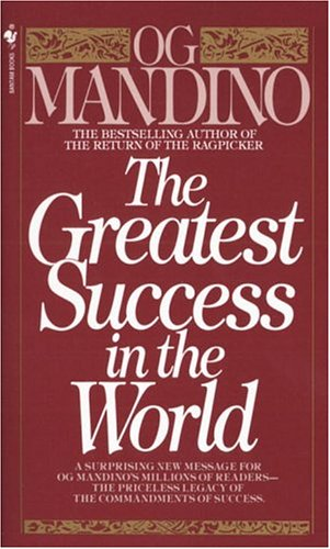 Greatest Success in the World  N/A 9780553278255 Front Cover