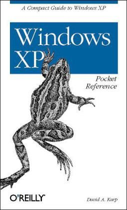 Windows XP Pocket Reference   2003 edition cover