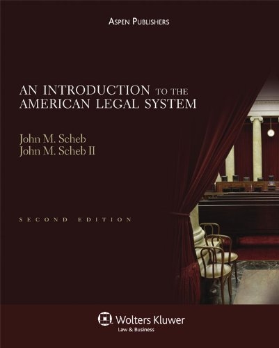Introduction to the American Legal System, Second Edition  2nd 2010 (Revised) edition cover