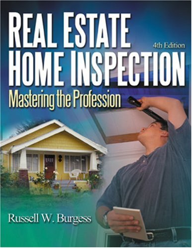 Real Estate Home Inspection Mastering the Profession 5th 2002 (Revised) edition cover