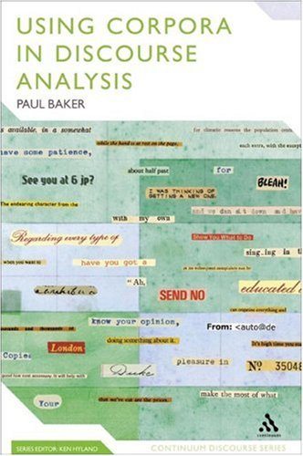 Using Corpora in Discourse Analysis   2006 edition cover