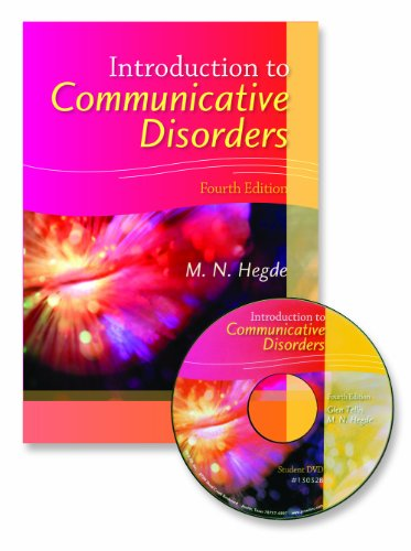 Introduction to Communicative Disorders  4th 2010 edition cover