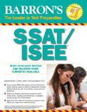 Barron's SSAT/ISEE, 3rd Edition High School Entrance Examinations 3rd 2013 (Revised) edition cover