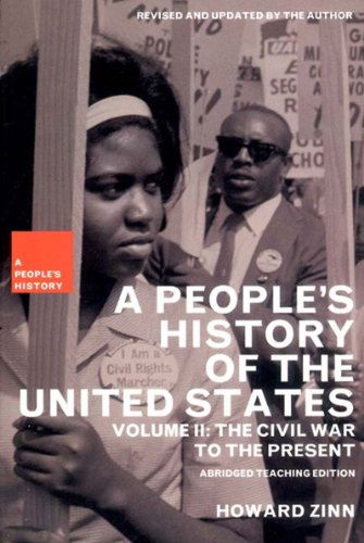 People's History of the United States The Civil War to the Present  2003 edition cover