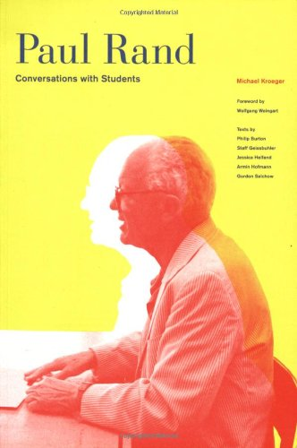 Paul Rand Conversations with Students  2008 edition cover