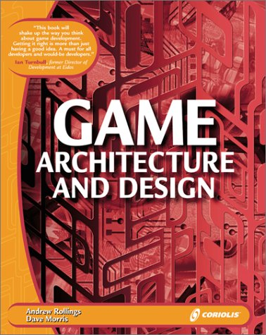Game Architecture and Design Gold Book N/A 9781576104255 Front Cover