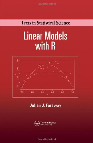Linear Models with R   2004 edition cover
