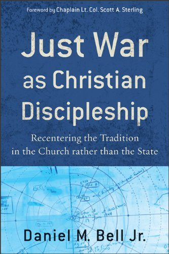 Just War As Christian Discipleship Recentering the Tradition in the Church Rather Than the State  2009 edition cover