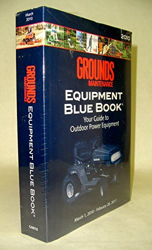 Grounds Maintenance Equipment Blue Book 2010   2010 edition cover