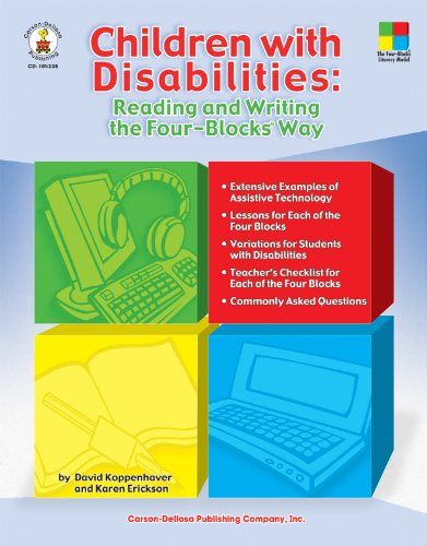 Children with Disabilities Reading and Writing the Four-Blocks Way  2007 edition cover